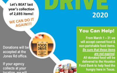 Iscential's annual food drive